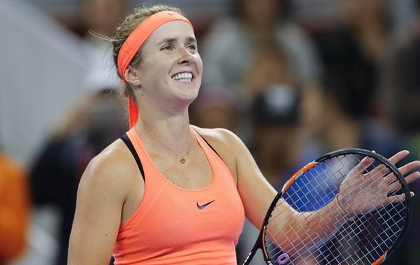 Світоліна - найкраща тенісистка лютого