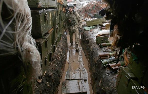 У зоні АТО поранені дев ять військових