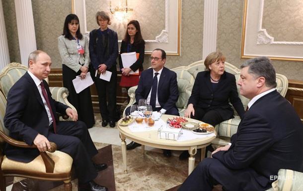 Порошенко в цьому році вже двічі говорив з Путіним
