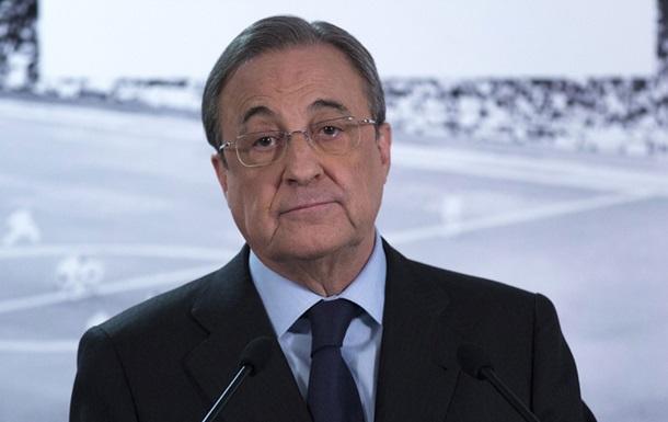 Президент Реала после победы над Наполи получил пакет с белым порошком из Италии