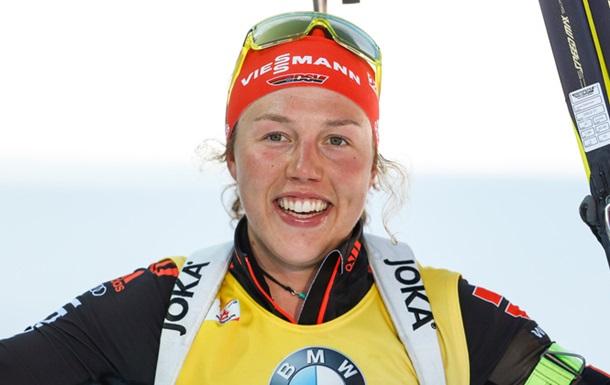Далмайер досрочно выиграла Кубок мира по биатлону