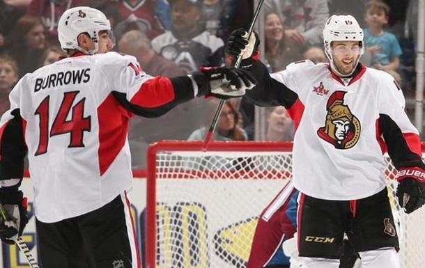 НХЛ: Бостон вырвал победу у Филадельфии, Оттава обыграла Колорадо
