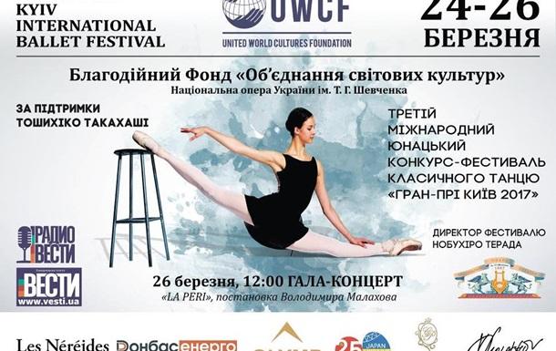 В Україні пройде Міжнародний фестиваль класичного танцю «Гран-Прі Київ»