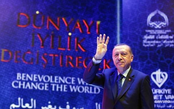 Ердоган: Захід озброює всіх терористів