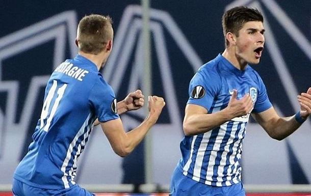 Малиновський забив гол і віддав гольову передачу у матчі чемпіонату Бельгії