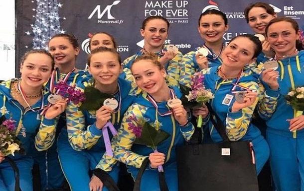 Українські синхроністки виграли три медалі в останній турнірній грі