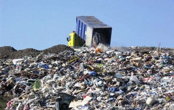 Біля Кривого Рогу затримали фуру зі сміттям зі Львова