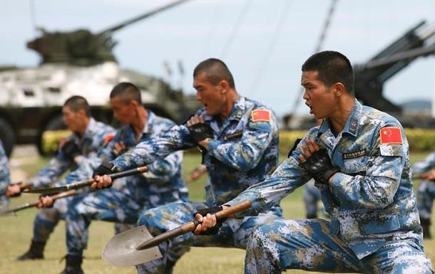 Китай у п ять разів збільшить чисельність морської піхоти