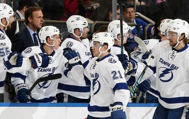 НХЛ: Тампа-Бэй обыграла Рейнджерс, Питтсбург проиграли Калгари