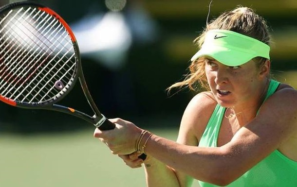 Теннис. Свитолина покидает турнир в Индиан-Уэллс