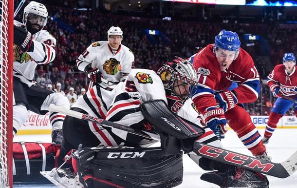 НХЛ: Чикаго відвіз перемогу з Монреаля, Вашингтон переміг Міннесоту