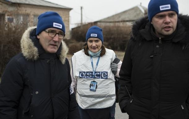 ОБСЄ в Луганську зафіксувала колону техніки