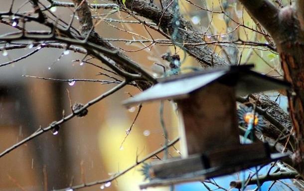 На українців чекають дощі і мокрий сніг