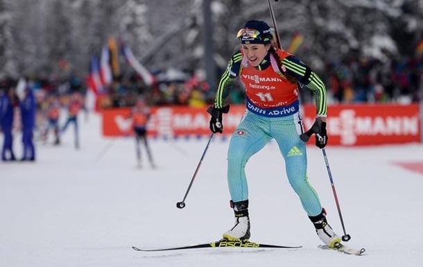 Джима откроет для украинцев последний этап Кубка мира по биатлону