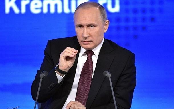 Путін обговорив з бізнесом ситуацію в Україні