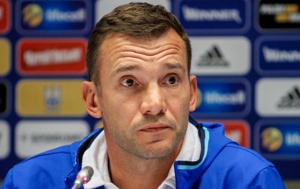 Шевченко: Сподіваюся, що збірній Хорватії когось бракуватиме