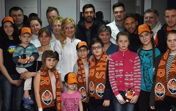 Шахтар відвідав дитячу лікарню у Харкові