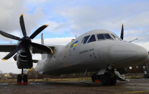 Антонов  показал новое видео с Ан-132D