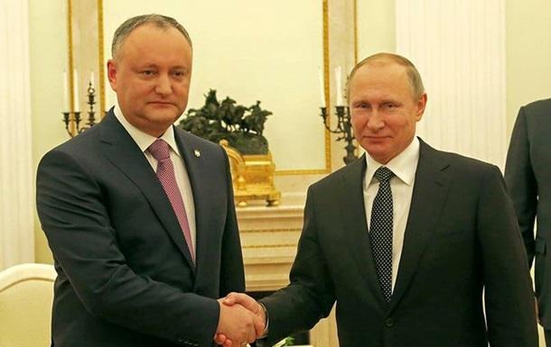 Молдова хочет договор о двойном гражданстве с РФ