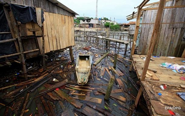 Жертвам злив і повеней в Еквадорі стали 15 осіб