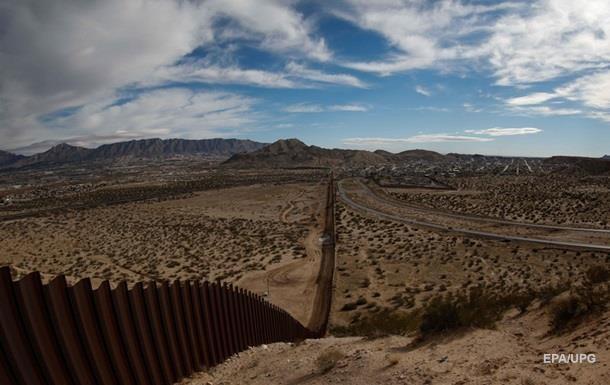 США оголосили конкурс проектів стіни на кордоні з Мексикою