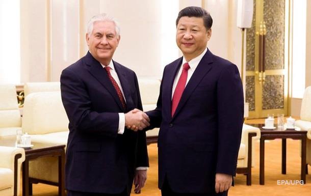 Тіллерсон провів переговори з керівництвом Китаю