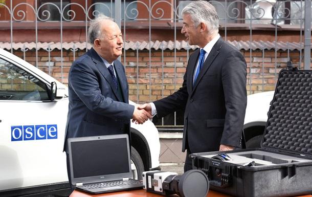 Німеччина передала місії ОБСЄ в Україні тепловізори