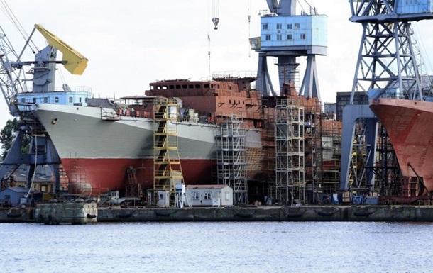 Росія масово будує військові кораблі