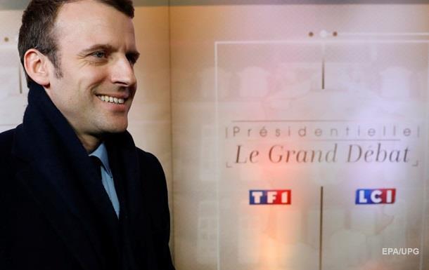 Французы отдали победу Макрону на дебатах