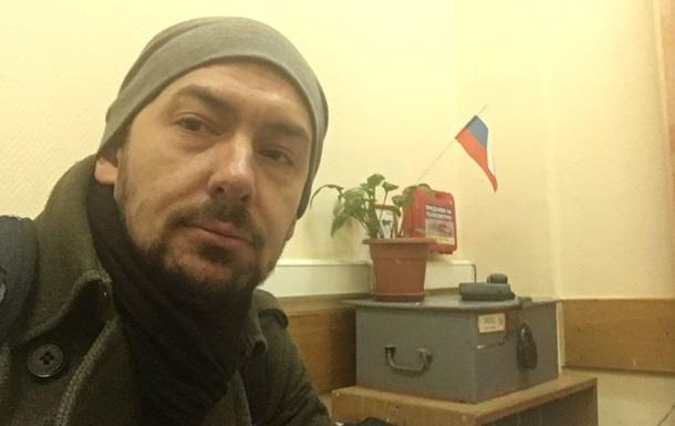 Поліція Москви пояснила затримання українського журналіста