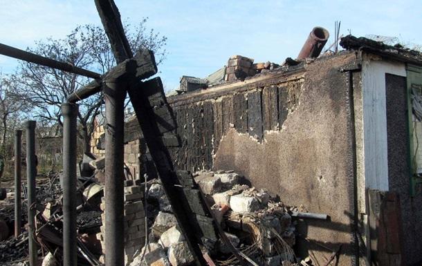 У Троїцькому під час пожежі постраждали четверо військових