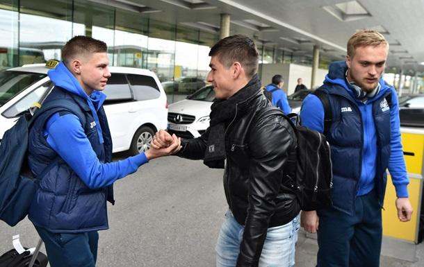 Малиновський і Матвієнко пройшли обряд посвячення в збірну