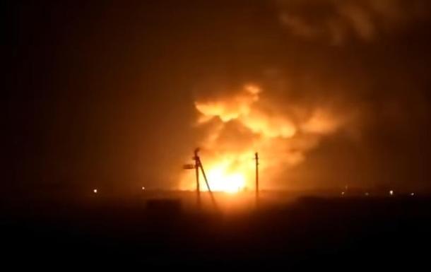 Взрывы Харьковская область