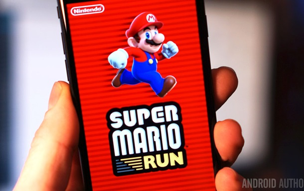 Игра Super Mario Run вышла на Android