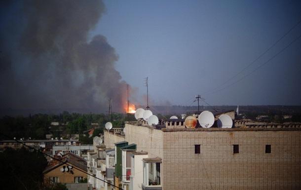 Пожежа в Балаклії. Плановий вибух пішов між планом