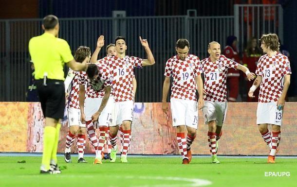Хорватія - Україна 1:0. Онлайн матчу відбору