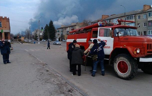 На складе в Балаклее продолжаются взрывы