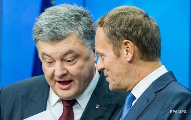 Порошенко і Туск зустрінуться 30 березня