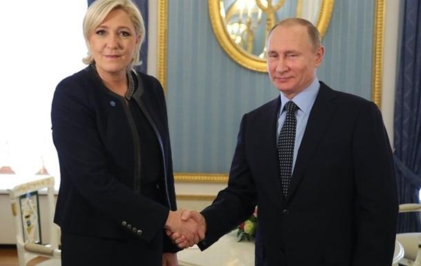 Підсумки 24.03: Ле Пен у Кремлі, танки РФ біля кордону