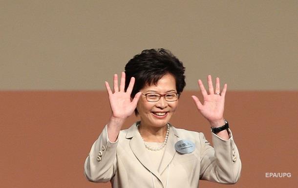 Жінка вперше обрана головою Гонконгу