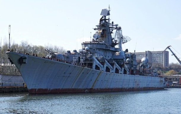Порошенко демилитаризовал крейсер Украина – СМИ
