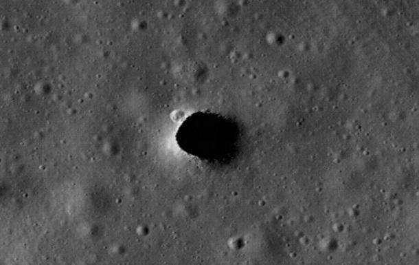 На Луне нашли туннели