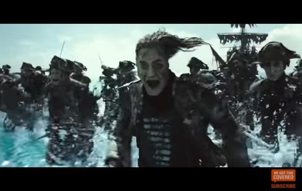 Пираты Карибского моря 5: видео