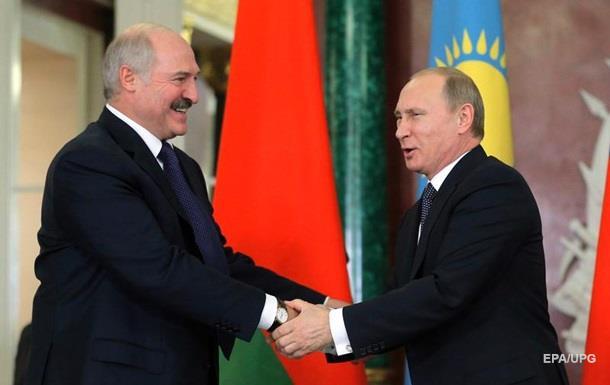 Лукашенко назвав Путіна рідним братом