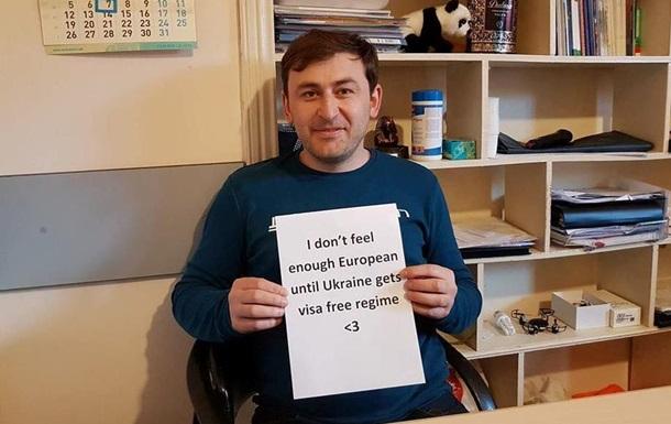 Безвіз для України: в Грузії запустили флешмоб