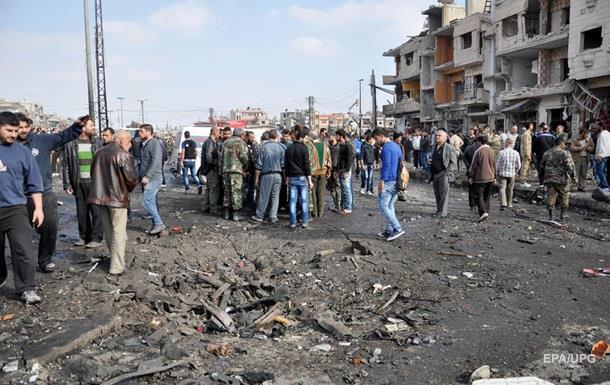 У Хомсі підірвали автобус, є жертви
