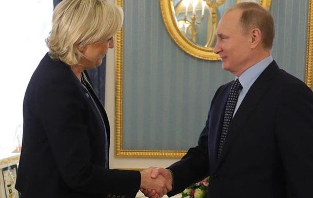 Ле Пен поставила на Путина