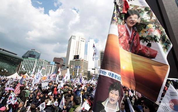 У Південній Кореї протестують проти арешту екс-президента