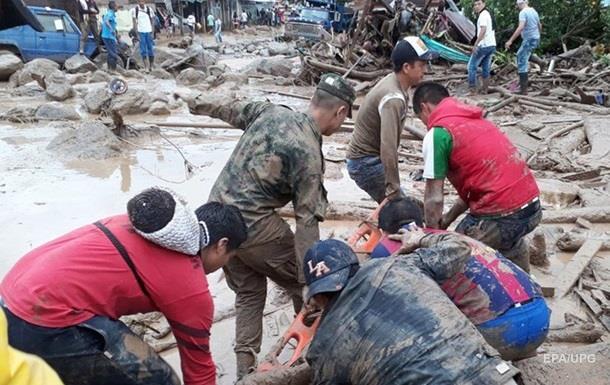 Кількість жертв зсуву в Колумбії перевищила 250 осіб