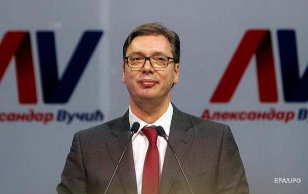 На выборах президента Сербии побеждает премьер-министр Вучич